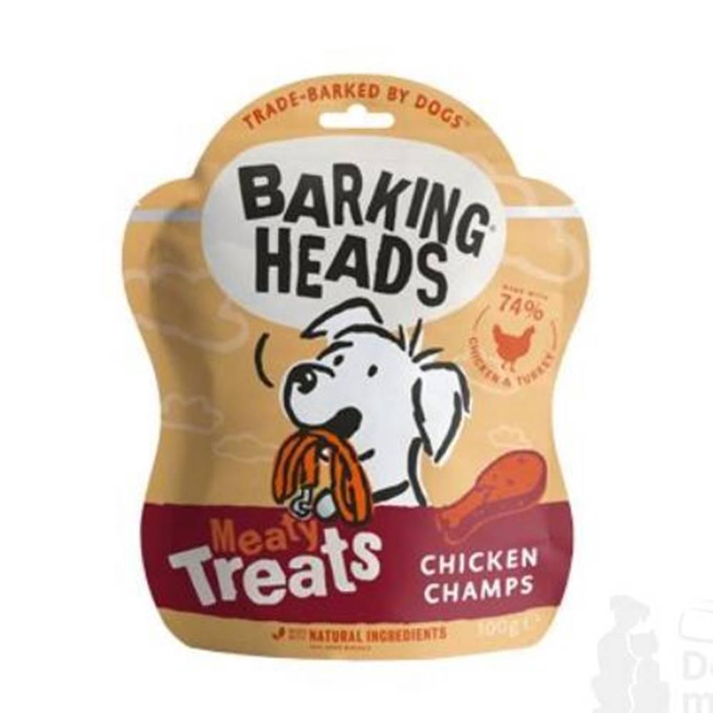 Barking heads BARKING HEADS Meaty Treats Chicken Champs 100g