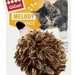 Hračka mačka GiGwi Melody Chaser Ježek sa zvuk. čipom