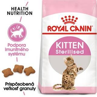 ROYAL CANIN Kitten Sterilised 2kg granule pre kastrované mačiatka