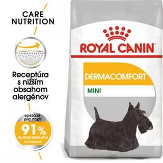 ROYAL CANIN Mini dermacomfort 8 kg granule pre malých psov s problémami s kožou