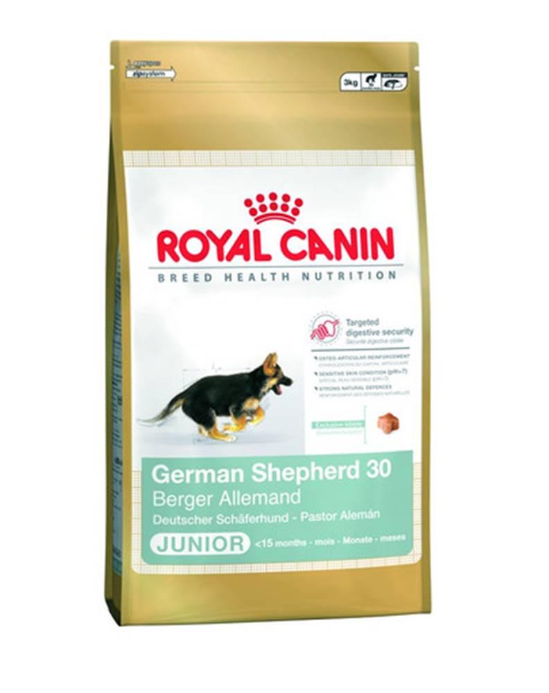 fera ROYAL CANIN German Shepherd Junior 1 kg granule pre šteniatka do 15 mesiaca, rasa: nemecký ovčiak