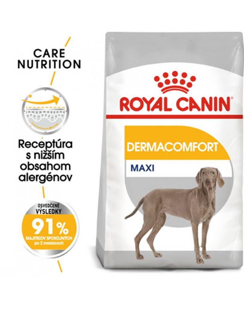fera ROYAL CANIN Maxi dermacomfort 3 kg granule pre veľké psy s problémami s kožou