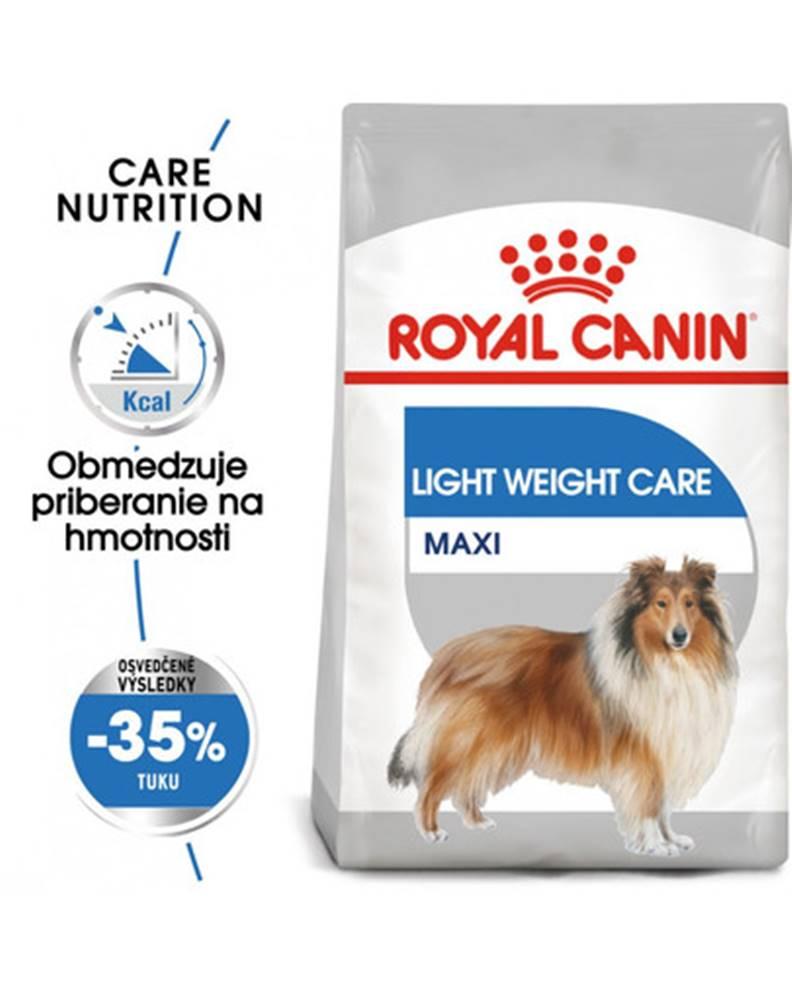 fera ROYAL CANIN Maxi Light Weight Care 3 kg diétne granule pre veľké psy
