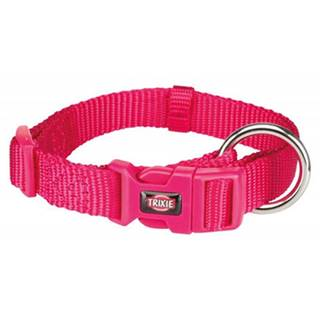TRIXIE Obojok Premium, S: 25–40 cm/15 mm, ružový