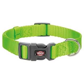 TRIXIE Obojok Premium, S: 25–40 cm/15 mm, zelený