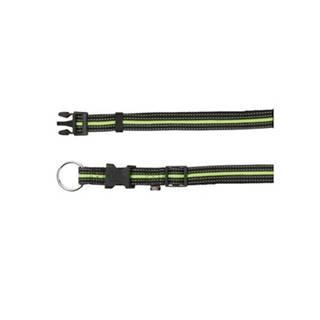 TRIXIE Obojok SM 30-45 cm / 17 mm čierno / zelený