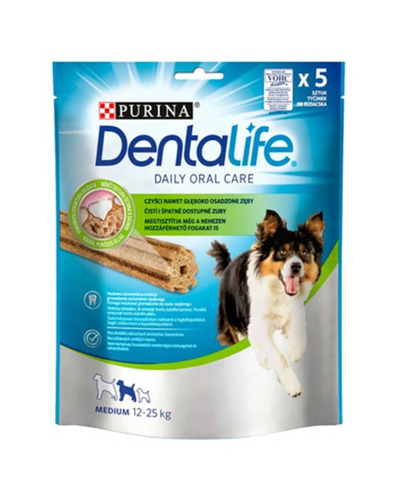 fera PURINA Dentalife Medium 6x115g (30ks) dentálne maškrty pre psov stredných plemien