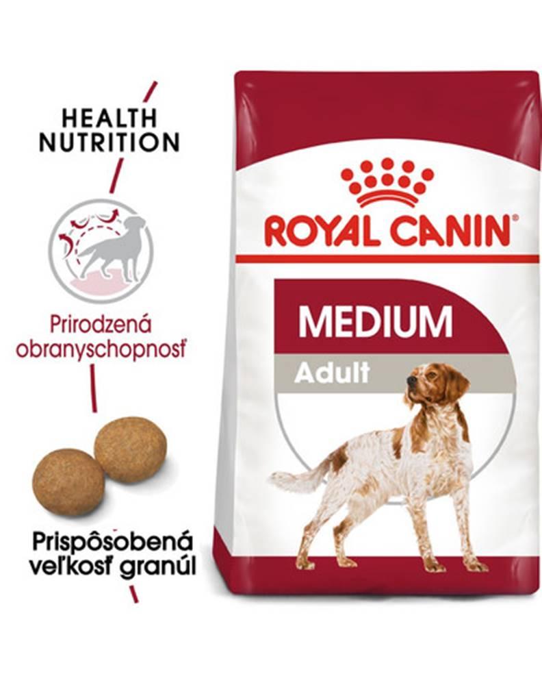 fera ROYAL CANIN Medium Adult 2 x 15 kg granule pre dospelých psov strednej rasy
