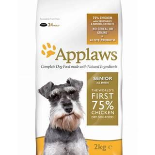 Applaws Dog Senior All Breed Chicken 7,5kg - granule pro starší psy 7+