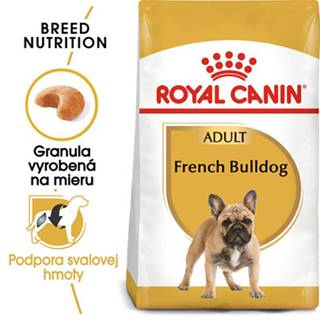 ROYAL CANIN French Bulldog adult 2 x 9 kg granule pre dospelého francúzskeho buldočka