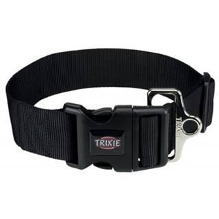 TRIXIE Obojok Premium XXL, M–L: 40–60 cm/50 mm, čierny