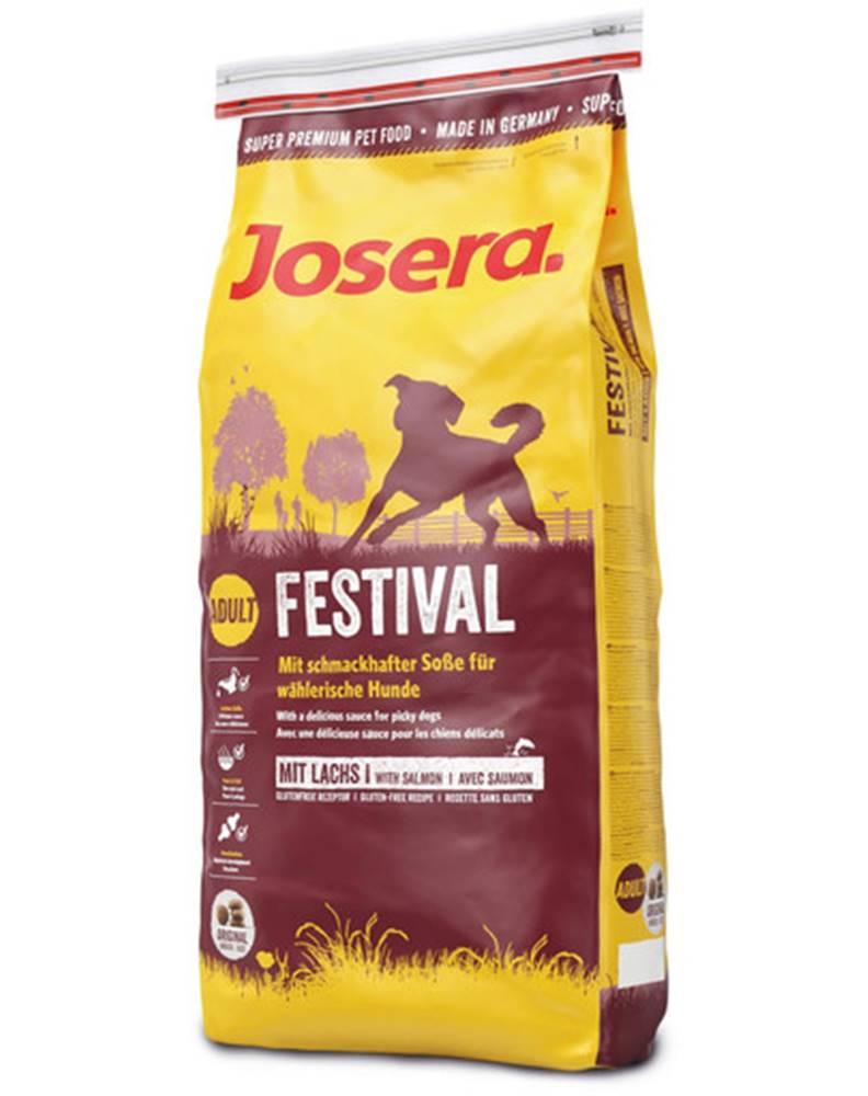 fera JOSERA Dog Festival pre náročných psov 2 x 15 kg + Dr PetCare MAX Biocide Collar Obojok proti hmyzu pre psov strednej rasy 60 cm