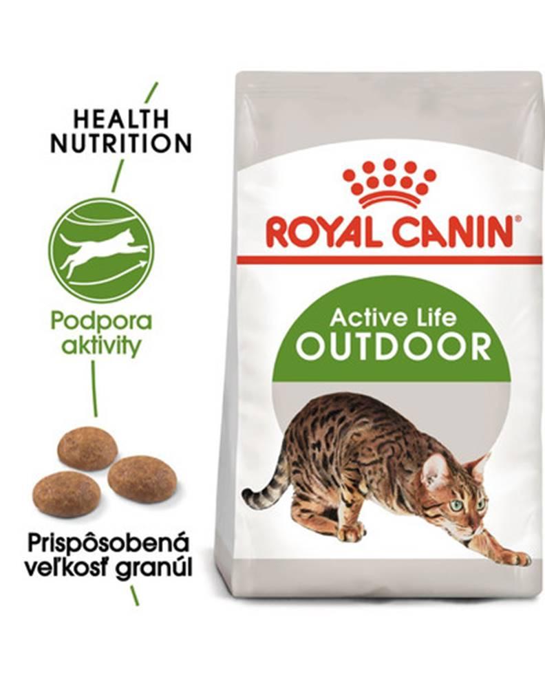 fera ROYAL CANIN Outdoor 4kg granule pre mačky s častým pohybom vonku