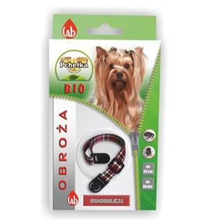 PCHEŁKA Bio obroża pies 35 cm + smycz na klucze krótka GRATIS