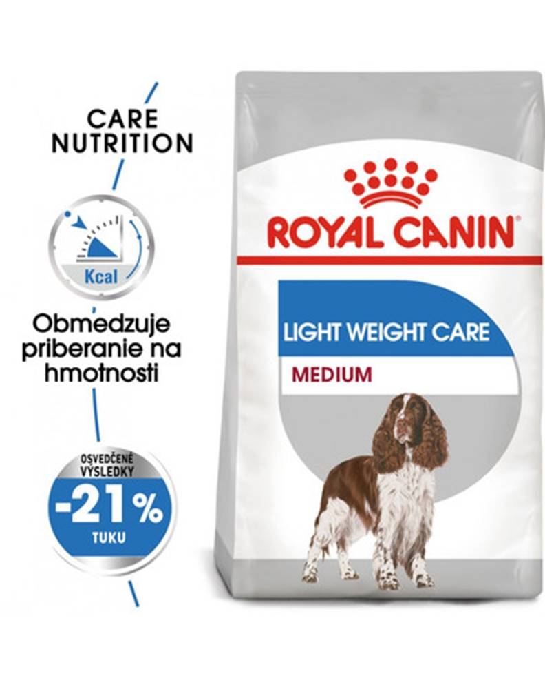 fera ROYAL CANIN Medium Light Weight Care 10 kg diétne granuly pre stredných psov