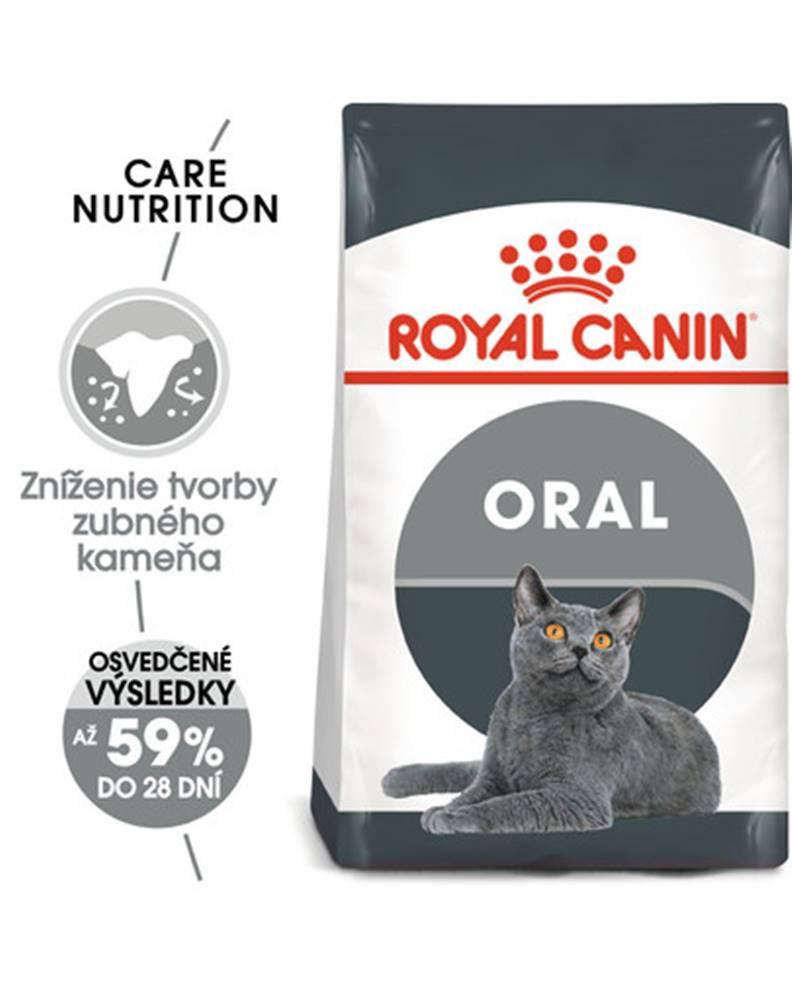 fera ROYAL CANIN Oral Care 3.4 kg granule pre mačky znižujúce tvorbu zubného kameňa