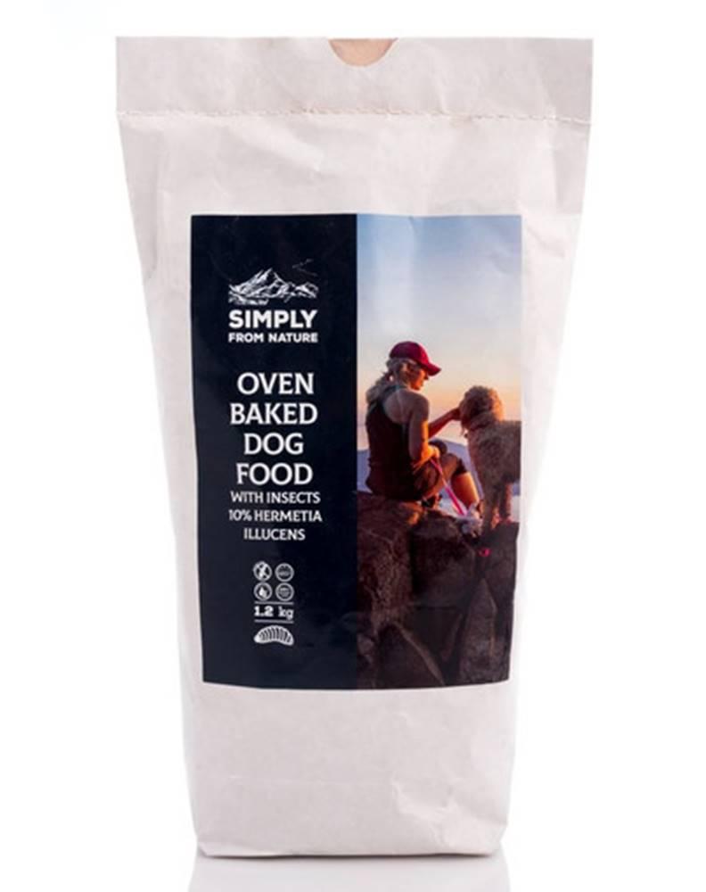 fera SIMPLY FROM NATURE Oven Baked pečené granule s hmyzím proteínom10% Hermetia Ilucens 1,2 kg