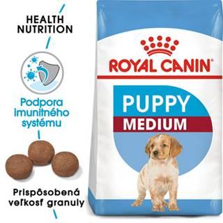 ROYAL CANIN Medium Puppy 2 x 15 kg granule pre šteňatá strednej rasy