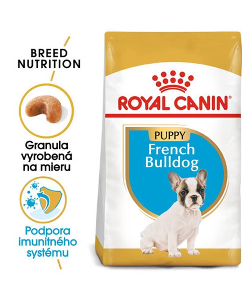 fera ROYAL CANIN French Bulldog Puppy 10kg granule pre šteňa francúzskeho buldočka