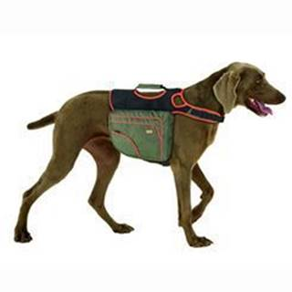 Karlie Batoh pre psov L zelená / oranž. reflexné