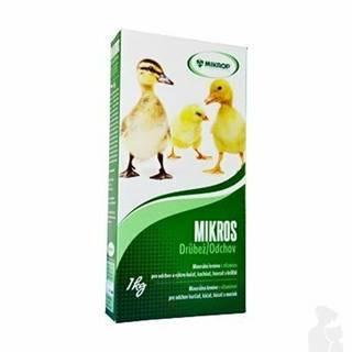 Mikros Drůbež s vitamíny plv 1kg krabička