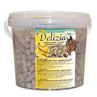 Pochoutka pro koně DELIZIA banán 3kg kbelík