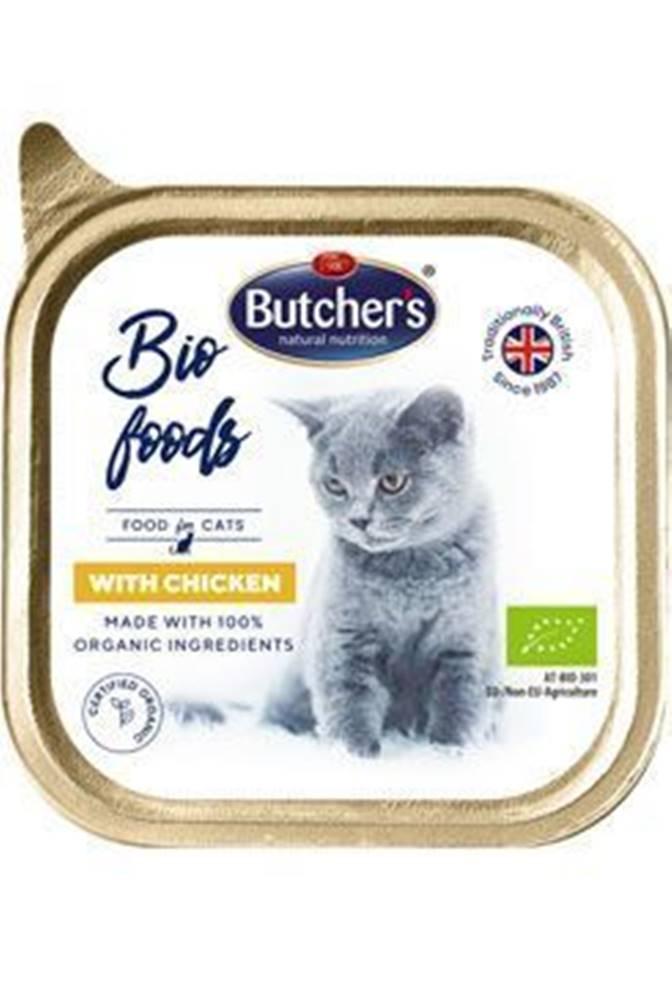 Butcher's Butcher 's Cat Bio s kuracím vanička 85g