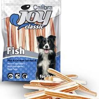 Calibra Joy Dog Classic Fish&Chicken Sandwich 80g NEW