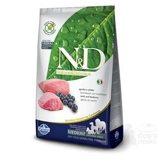 N&D PRIME DOG Adult Lamb & Blueberry 2,5kg
