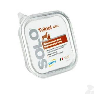 SOLO Vitello 100% (teľacie) vanička 100g