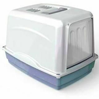 WC mačka Vicky kryté s filtrom, 54x39x39cm-modrá