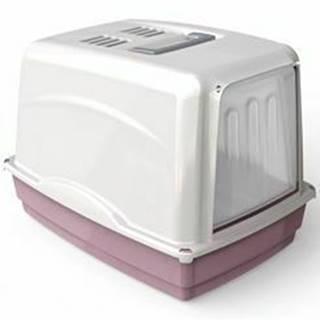 WC mačka Vicky kryté s filtrom, 54x39x39cm-ružová