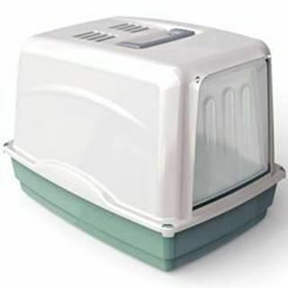 WC mačka Vicky kryté s filtrom, 54x39x39cm-zelená