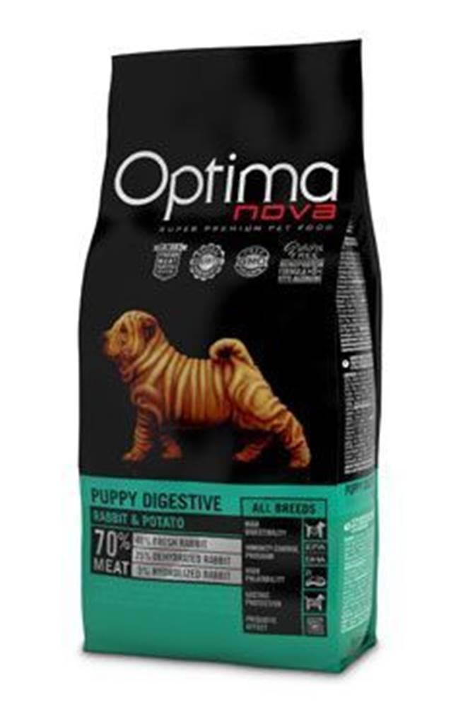 Optima Nova Optima Nova Dog GF Puppy digestive 12kg