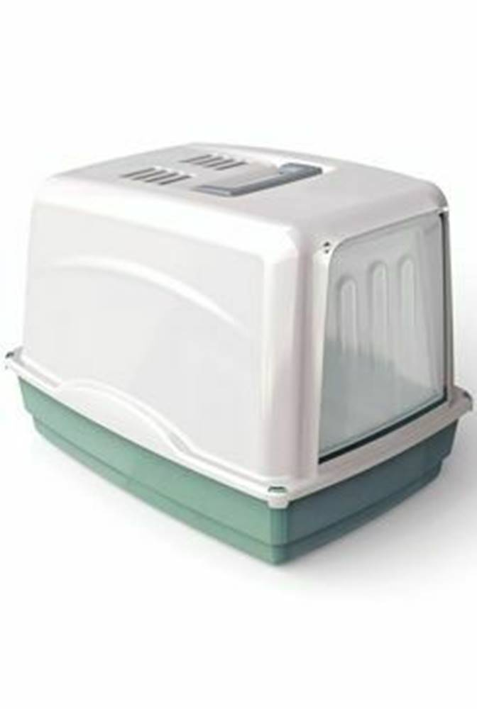 Ostatní WC mačka Vicky kryté s filtrom, 54x39x39cm-zelená