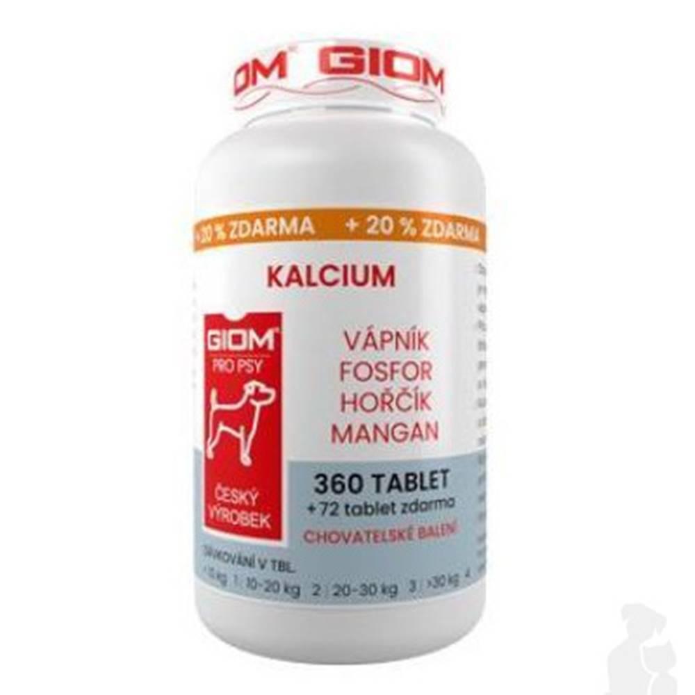 Giom Giom pes Kalcium 360 tbl + 20% zadarmo