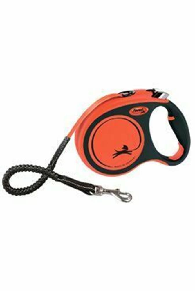 Flexi Vodidlo FLEXI Xtreme L pásik 5m / 65kg oranžová