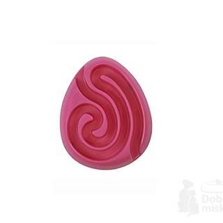 Miska bludiště Dog Maze  růžová 1ks Kruuse