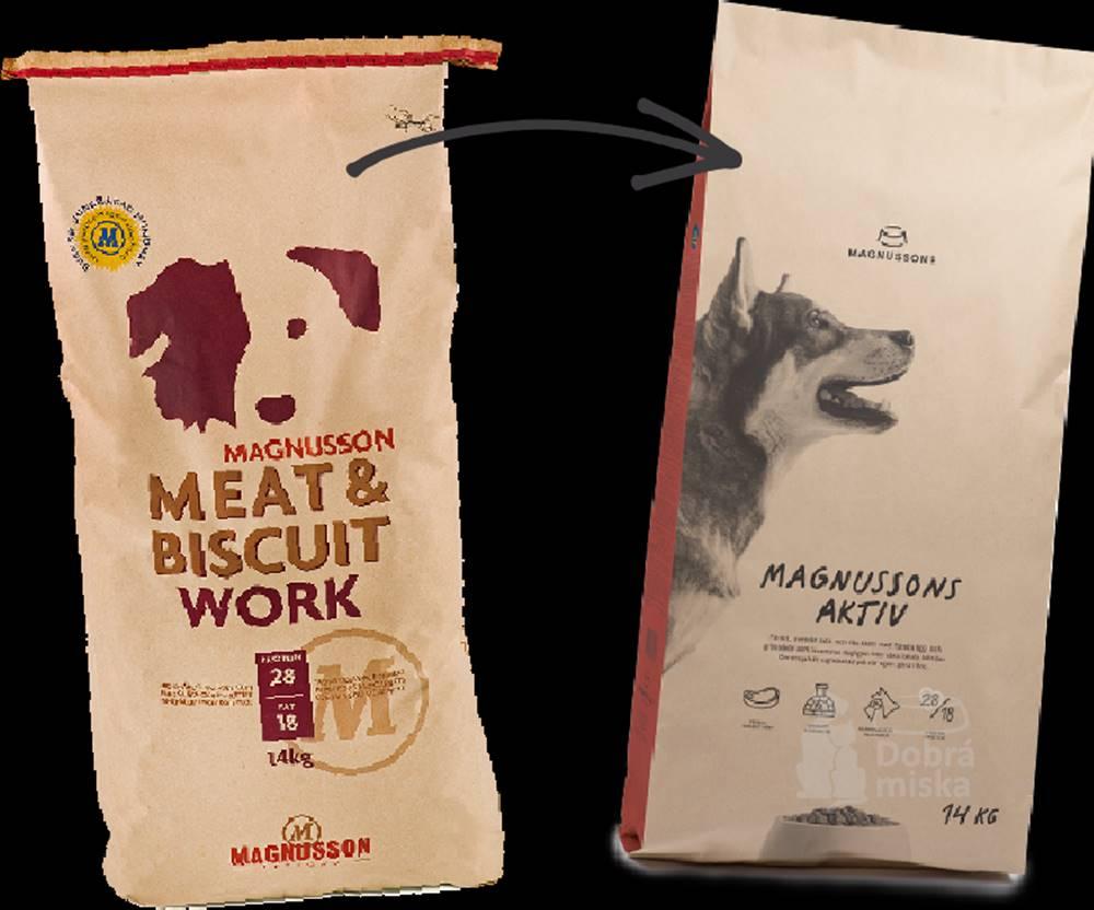 Magnusson Magnusson Meat&Biscuit Work 14kg