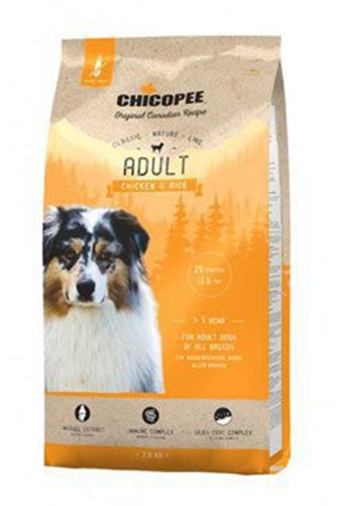 CHICOPEE Chicopee Classic Nature Adult Chicken-Rice 15kg