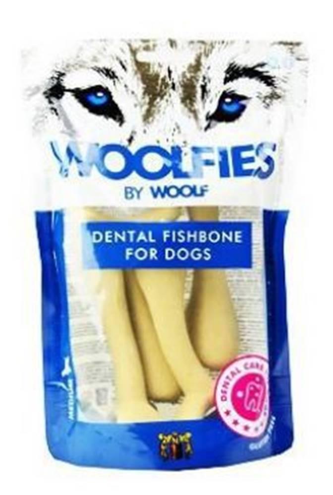 Woolf Pochoutka dentální Woolfies Dental Fishbone M 200g