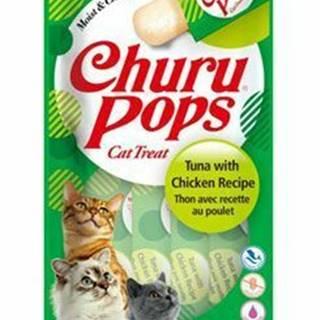 Churu Cat Pops Tuna with Chicken 4x15g