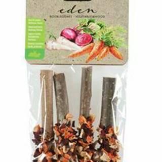 Pochúťka EDEN WOOD LOG mix pre hlodavce 20g Zolux