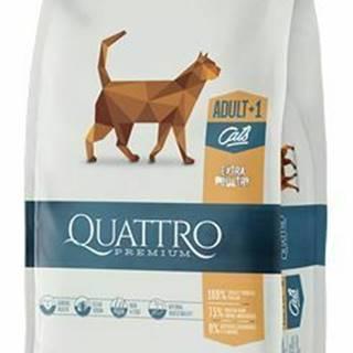 QUATTRO Cat Dry Premium all Breed Adult Hydina 400g
