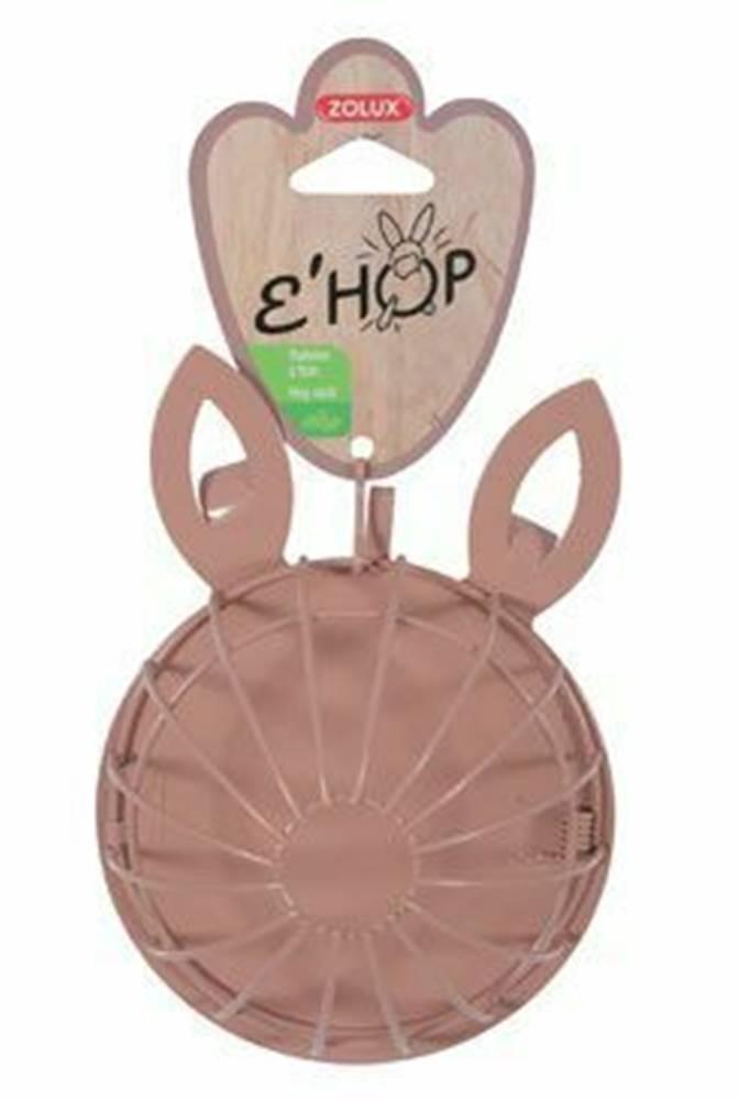 Zolux Krmítko jesličky EHOP hlodavec kov králík růžové Zolux