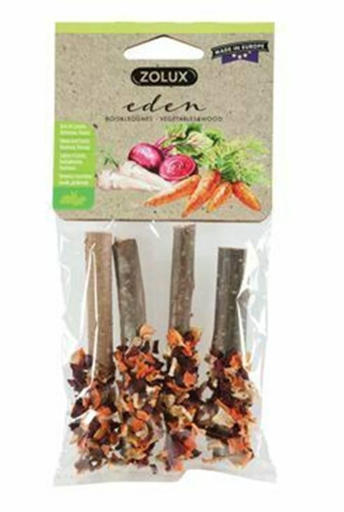 Zolux Pochúťka EDEN WOOD LOG mix pre hlodavce 20g Zolux