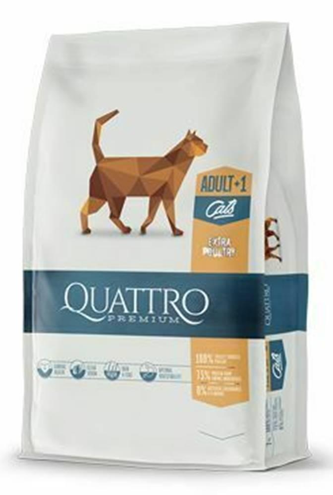 Ostatní QUATTRO Cat Dry Premium all Breed Adult Hydina 400g