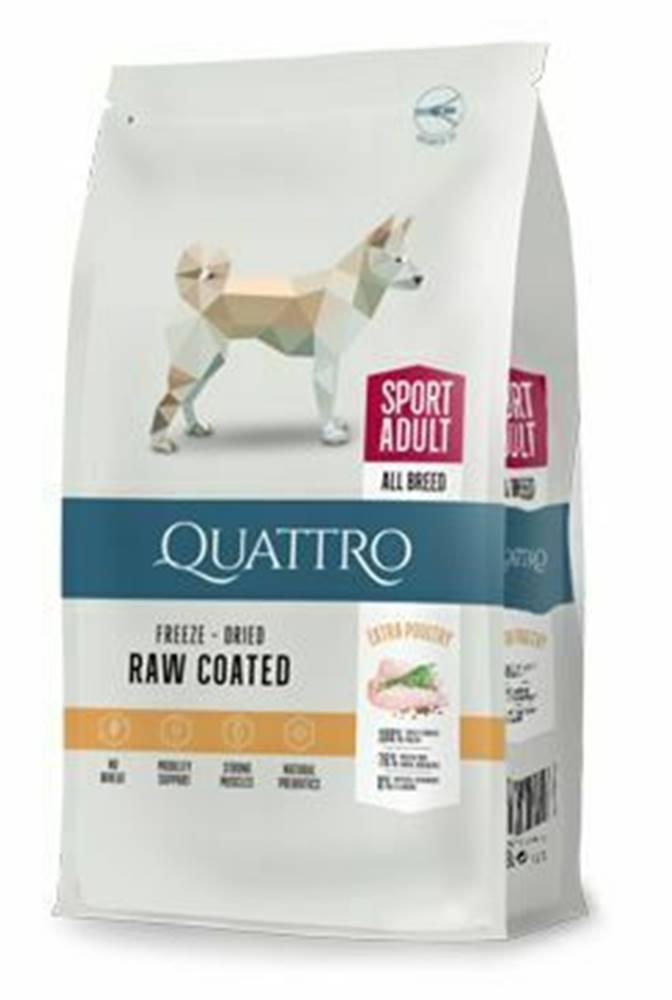 Ostatní QUATTRO Dog Dry Premium All Breed ACTIVE Adult 12kg