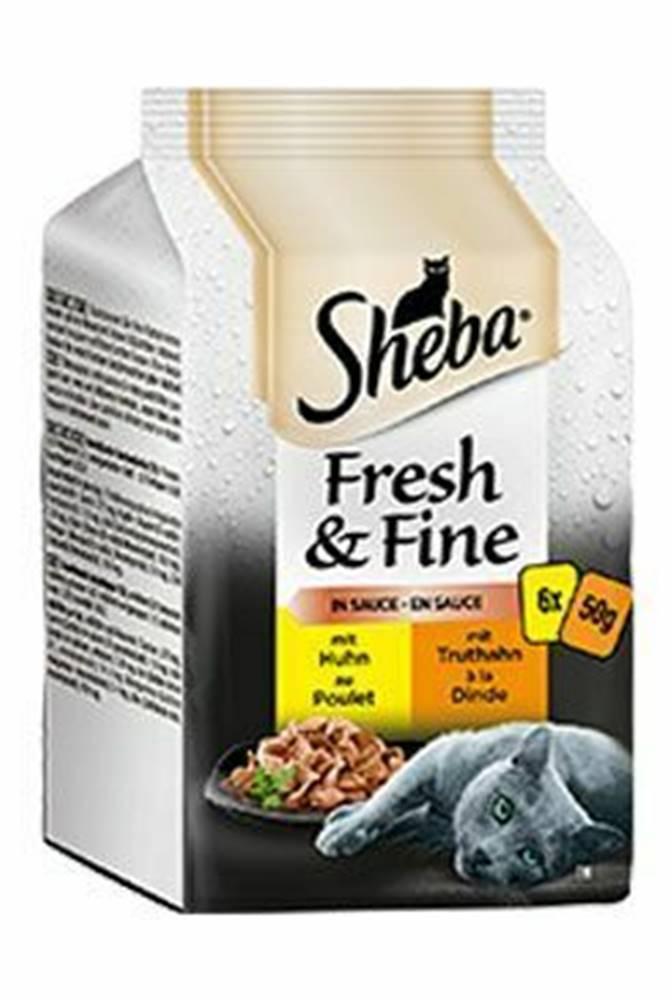 Sheba Sheba vrecko Fresh & Fine s hydinovým mäsom 6x50g