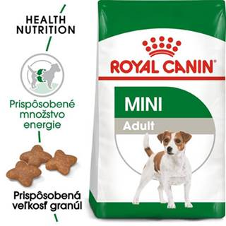 ROYAL CANIN Mini Adult 8 kg + kapsičky Mini adult 12x85 g